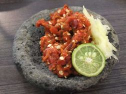 Interesting facts about Indonesia - sambal